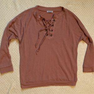 Fashion Nova - Women's Pink Long Sleeve - Size M